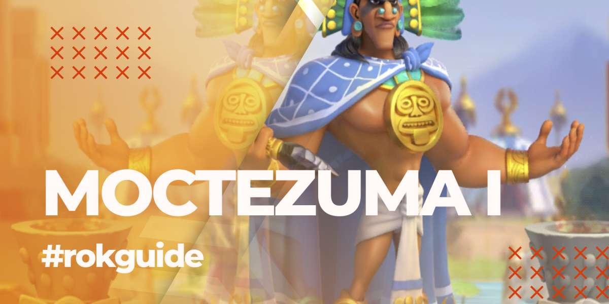 Moctezuma I - Guía, Árbol de Talentos y Habilidades. Guía de Comandantes para Rise of Kingdoms.