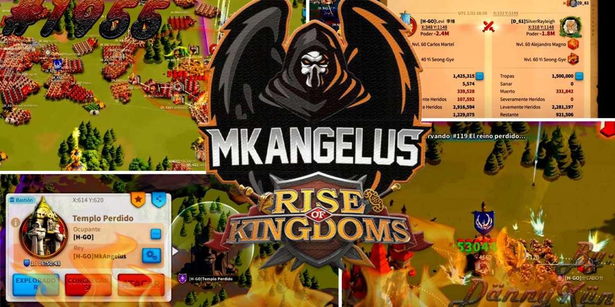 [EN EXCLUSIVA] CONOCE a MKAngelus, El REY del reino MÁS GRANDE en la comunidad HISPANOHABLANTE | Rise Of Kingdoms En Esp